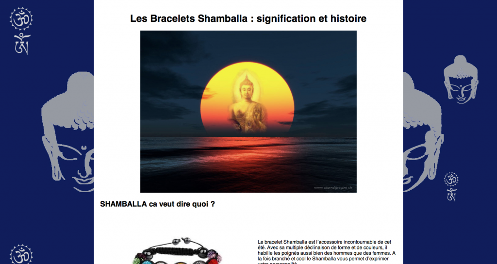 site shamballa signification