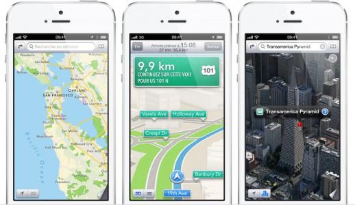 maps iphone