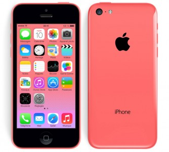 iPhone 5C rouge