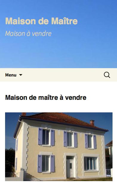 Maison-vendre